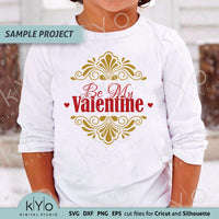 Valentines day shirt design svg