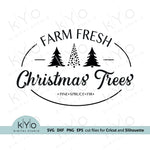 Farm Fresh Christmas Trees SVG files