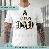 Fathers-Day-Tacos-Dad-Shirt-svg