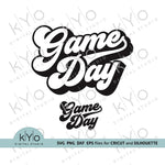 Game Day Svg Files by kYoDigitalStudio