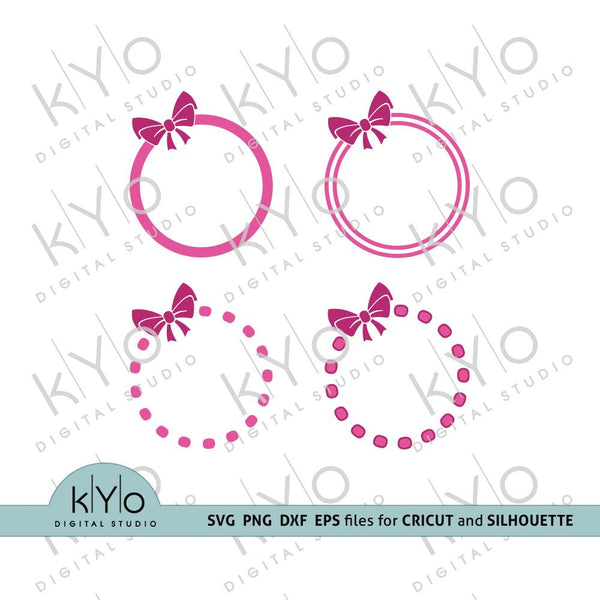 Free circle monogram svg files, Free Svg Files bundle, Free girl svg - kYoDigitalStudio