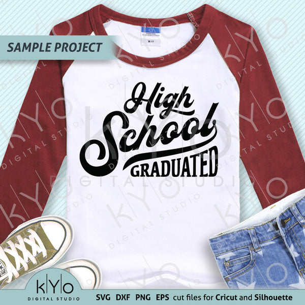 High school Graduation Shirt Design svg png dxf eps cutting and printing files, Nailed it svg files for Cricut and Silhouette. Fully compatible with Cricut Design Space, Silhouette Studio, Scan n Cut Canvas and other graphic software.