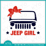 Jeep Girl svg cut files-kYoDigitalStudio