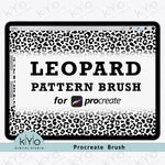 Procreate Leopard Pattern Brush by kYo Digital Studio