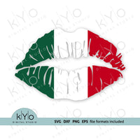 Mexican Flag Lips Svg, Mexico Flag Lips svg, Mexican Girl Lips Svg - kYoDigitalStudio.com