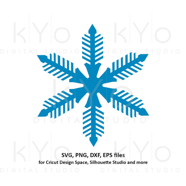 Snowflake svg, Winter svg, Merry Christmas svg, Christmas party svg, Merry Christmas svg files for Cricut and Silhouette dxf files