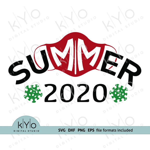 Corona virus covid 19 face mask Summer 2020 svg png dxf files-kYoDigitalStudio