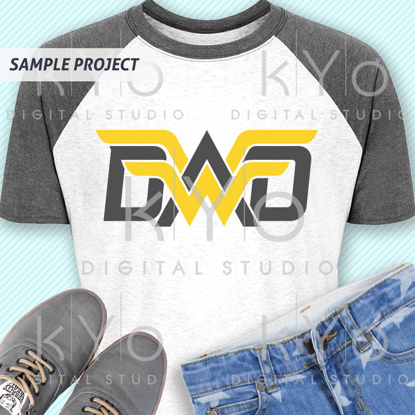 Wonder Woman Dad Shirt Design Svg Png Dxf Eps files-kYoDigitalStudio
