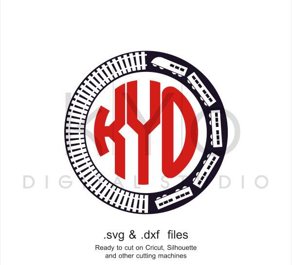 Train Monogram Svg Cutting File Train Svg Files Transport Svg Cut Fi Kyodigitalstudio Com