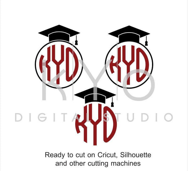 Graduation SVG cut files, Class of 2017 SVG, Graduating svg, Graduation Cap Hat svg, Mortarboard svg, files for Cricut and Silhouette #svg-kYoDigitalStudio