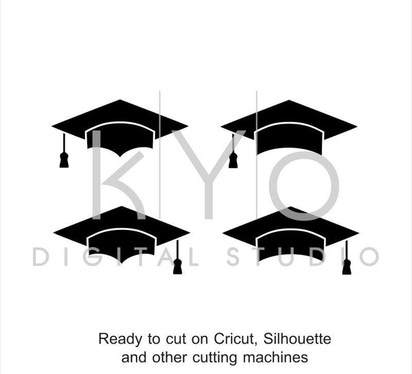 Graduation mortarboard svg Class of 2018 svg files for Cricut Silhouette Graduating 2018 svg Graduation Cap Hat svg #svgfiles-kYoDigitalStudio