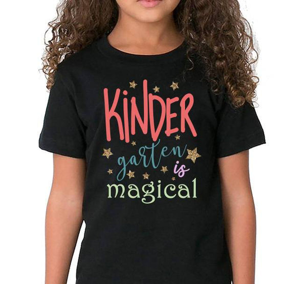 Kindergarten is magical SVG, Kinder garten svg, kids tshirt svg, magic svg, school svg, love svg, Cricut files, commercial use svg-kYoDigitalStudio