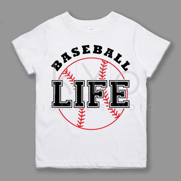Baseball Life svg files Stitches svg Sport svg files for Cricut Silhouette Baseball tshirt design svg Baseball mom svg Baseball monogram svg-kYoDigitalStudio