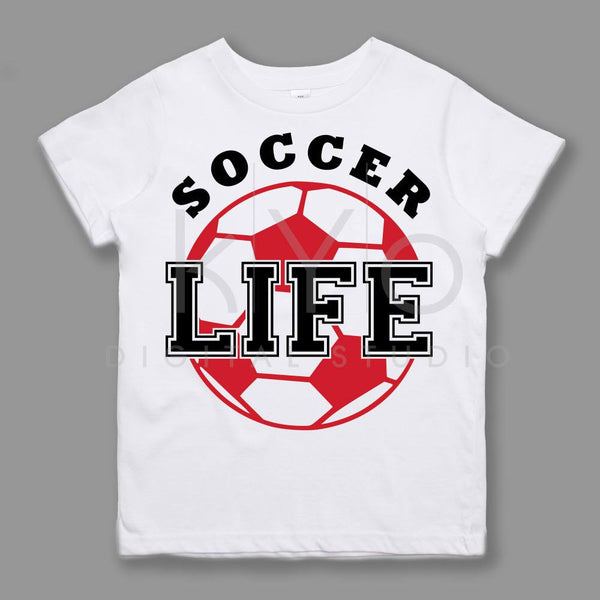 Soccer SVG Soccer Life svg Soccer Mom svg NSL League Sport svg files for Cricut Silhouette files Kids tshirt design svg Love svg-kYoDigitalStudio