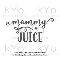 Mommy Juice svg Mom Beer Wine svg Glass sticker svg Mom svg Mommy svg Moms wine glass svg Drinking svg files for Cricut Silhouette #svg-kYoDigitalStudio