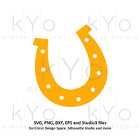 St Patricks Day Horseshoe svg, Horse shoe svg, Lucky horseshoe svg png dxf svg files for Cricut and Silhouette saint patricks day svg-kYoDigitalStudio