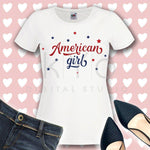 American girl svg Hand lettered svg American cutie svg Independence Day svg 4th Fourth of July SVG files for Cricut Silhouette quote svg-kYoDigitalStudio