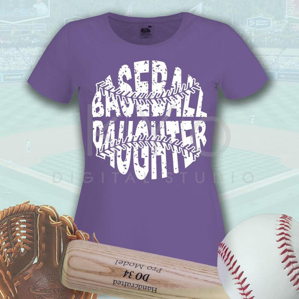 Baseball SVG Baseball Daughter SVG, Stitches svg, distressed baseball svg studio3 png grunge baseball htv design svg Baseball tshirt svg-kYoDigitalStudio