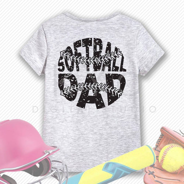 Softball SVG Softball Dad SVG, Stitches svg, distressed softball svg studio3 png grunge softball htv design svg Softball tshirt svg-kYoDigitalStudio