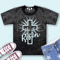He Is Risen svg Easter svg Christian Cross svg Religious svg Christian t shirt svg Jesus Christ svg png files for Cricut Silhouette-kYoDigitalStudio