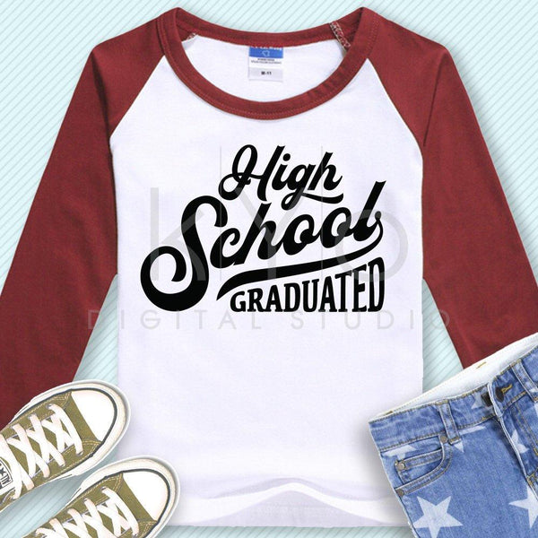 High school Graduation shirt design svg cutting files-kYoDigitalStudio