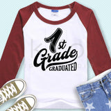 1st Grade Graduated svg png dxf eps files-kYoDigitalStudio