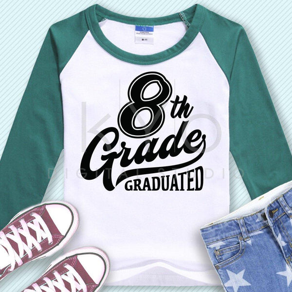 8th grade svg eighth grade svg 8th grade clip art school graduation svg 8th grade nailed it svg files for cricut silhouette files-kYoDigitalStudio