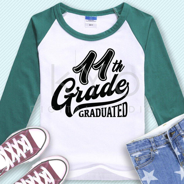 11th Grade Graduated svg png dxf eps files-kYoDigitalStudio