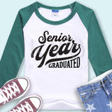 Senior Year svg Senior 2018 graduation svg Senior clip art High school graduation svg nailed it svg files for cricut silhouette files-kYoDigitalStudio