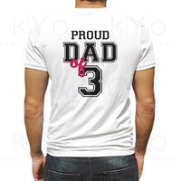 Free 101,000+ vectors, stock photos & psd files. Proud Dad Of Three Shirt Design Svg Proud Dad Svg Fathers Day Svg F SVG, PNG, EPS, DXF File