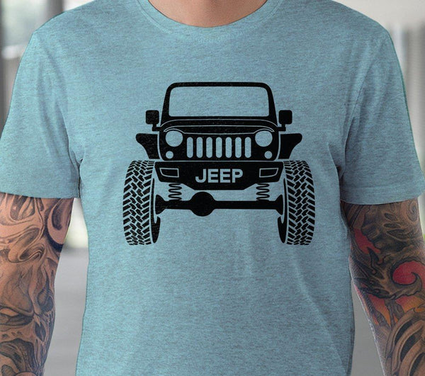 Wrangler Jeep svg Raised jeep silhouette svg Jeep Wrangler shirt design Hot rod Off road 4x4 svg files for Cricut Silhouette cut files-kYoDigitalStudio