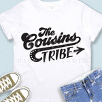 The Cousins Tribe svg Cousins shirt design svg Camping svg Cousins svg Love svg Quote svg files for Cricut Silhouette, iron on design svg-kYoDigitalStudio