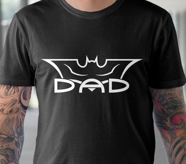 Batman Dad shirt svg Bat dad svg Batman svg dxf files Marvel Superhero svg Fathers day shirt svg files for Cricut Silhouette Marvel family-kYoDigitalStudio