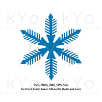 Snowflake svg Winter svg Merry Christmas svg Christmas party svg Merry Christmas card svg files for Cricut and Silhouette dxf files-kYoDigitalStudio