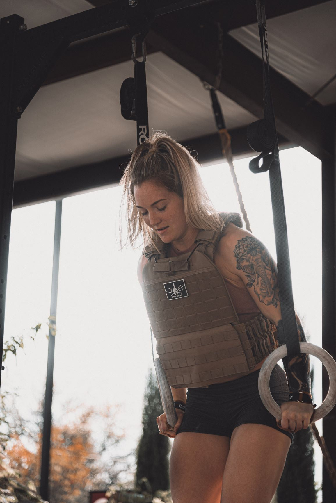 Tactical Weight Vest (Coyote Tan)
