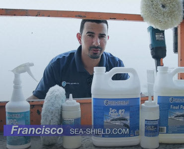 How to Polish and Wax Gel Coat on Yachts