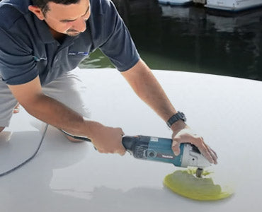 How to Polish and Wax Paint on Yachts
