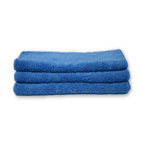 Microfiber 400 Grams Blue 3 pack