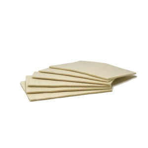 Polishing Felt Pad 4X6 Pack 6