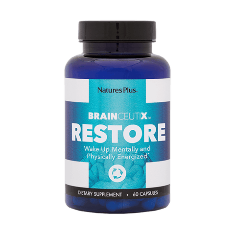 BrainCeutix Restore Capsules Wake Up Mentally and Physically Energized