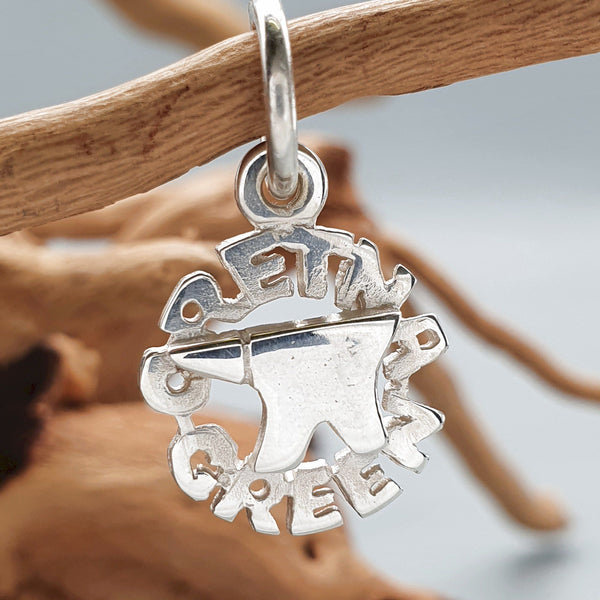Gretna Green Anvil silver charm - Gretna Green Wedding Rings