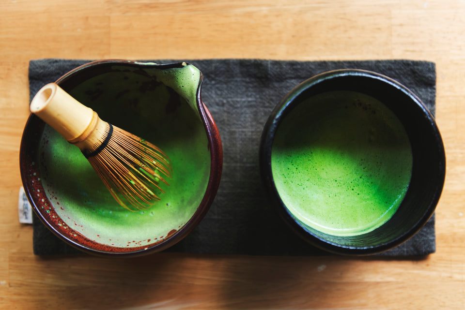 Matcha ceremonial grade tea