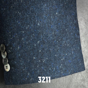 Navy Donegal Tweed | Men's Sport Coat | Contemporary Fit