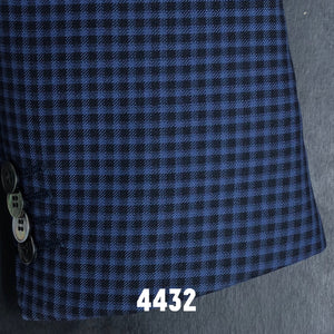 Blue and Black Check Plaid | Men's Sport Coat | Contemporary Fit