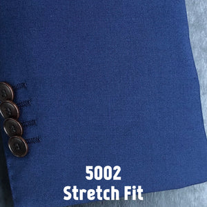 Vivid Blue Solid | Men's Suit | Stretch Slim Fit