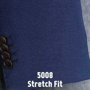 Navy Solid | Men's Suit | Stretch Slim Fit