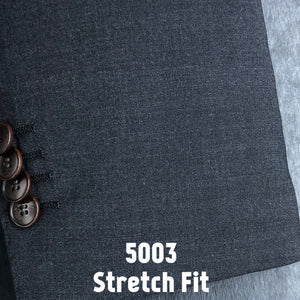 Charcoal Grey Solid | Men's Suit | Stretch Slim Fit