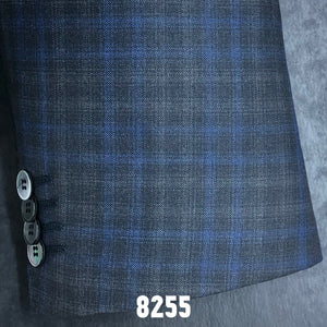 Blue and Charcoal Plaid | Men's Sport Coat | Contemporary Fit