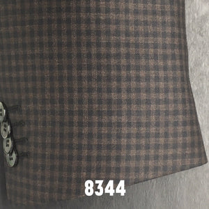Brown and Black Small Check | Men's Sport Coat | Contemporary Fit