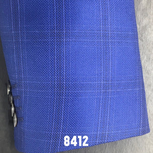 Royal Blue Windowpane | Men's Sport Coat | Contemporary Fit
